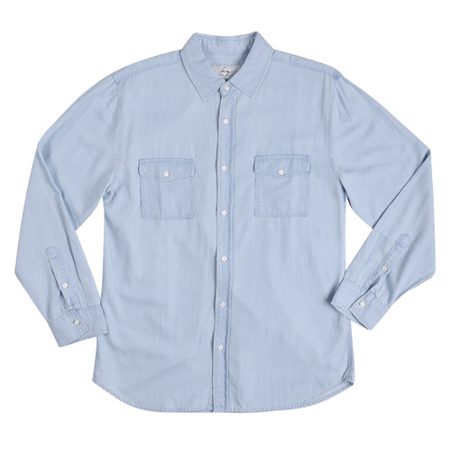 Bamboo Denim Long Sleeve Shirt