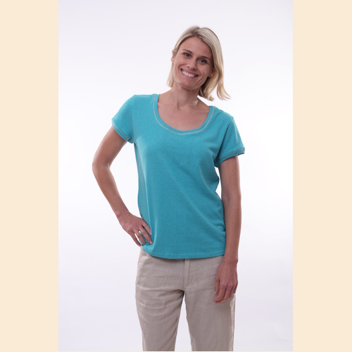 Hemp Scoop Neck T-Shirt