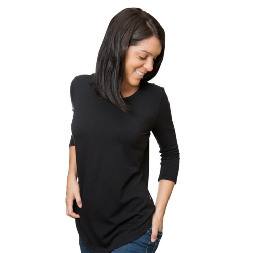 Bamboo 3/4 Sleeve Lucy Yoga Shirt