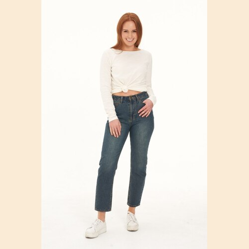 Ladies' Hemp Straight Leg Jeans