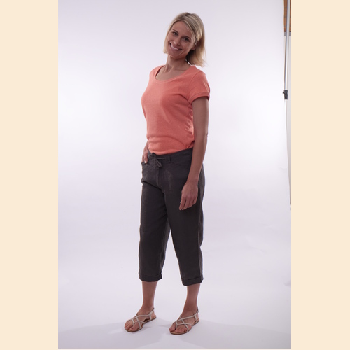 Women's 100% Hemp 3/4 Pants