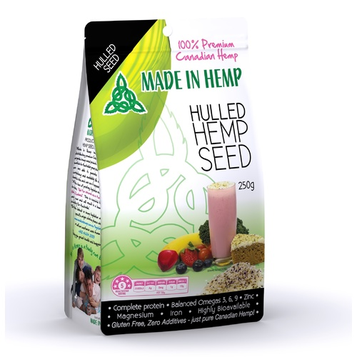 Hulled Seed - Conventional - 250g