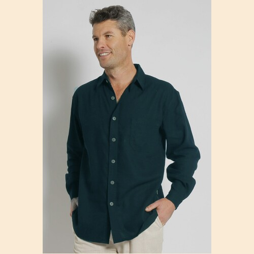 Men's Hemp Rayon L/S Shirt